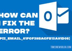 Fix [Pii_email_61fcf39bacfb13a91d09] Error code