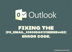 Fix [PII_EMAIL_35800DA0131BEEBE44E2] Error Code